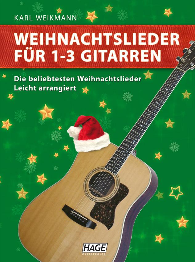 Weihnachtslieder für 1-3 Gitarren - Karl Weikmann / Noten