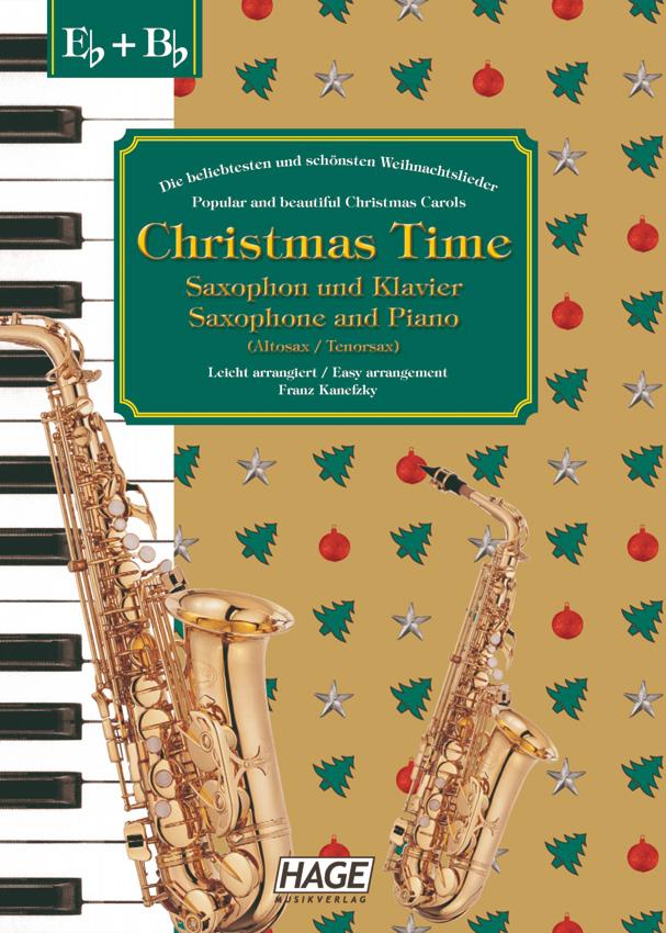 Christmas Time Saxophon und Klavier - Franz Kanefzky / Noten