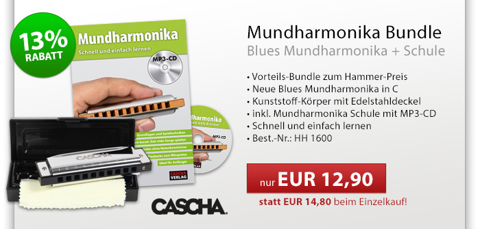 Blues Mundharmonika Bundle