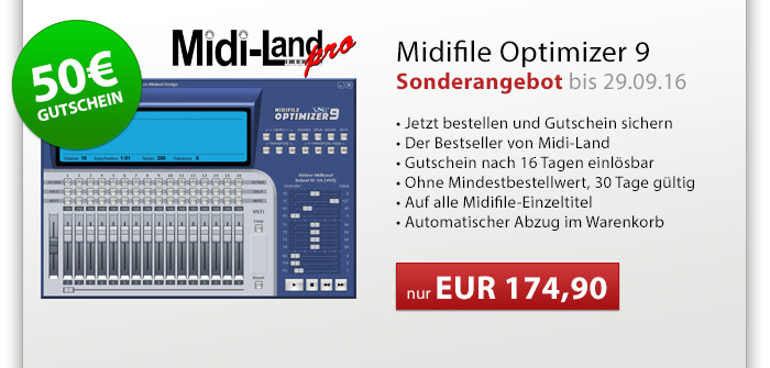 Midifile Optimizer 9