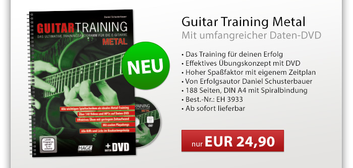 Guitar Training Metal