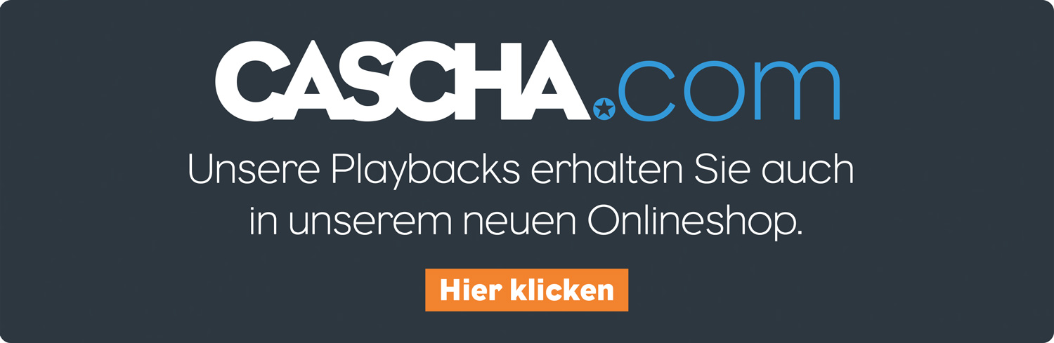 MP3-Playbacks auf cascha.com