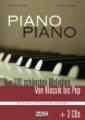 Piano Piano mittelschwer, Notenbuch mit 3 CDs