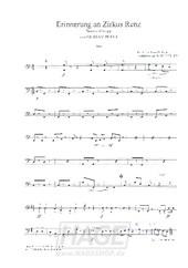 Erinnerung an Zirkus Renz - Gustav Peter - AM501BASS / Noten