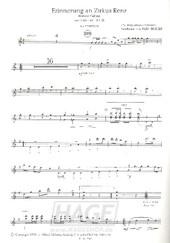 Erinnerung an Zirkus Renz - Gustav Peter - AM501AKK1 / Noten