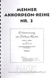 Erinnerung an Zirkus Renz - Gustav Peter - AM501P / Noten